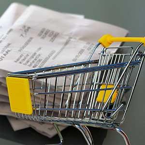 Entlastung durch Einkaufen